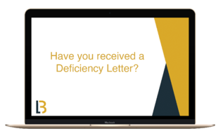 Deficiency-letter-computer-screen