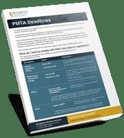 PMTA Deadlines